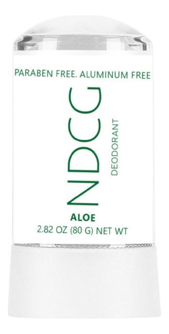 Купить Натуральный минеральный дезодорант с соком алоэ Deodorant Aloe: Дезодорант 80г, NDCG