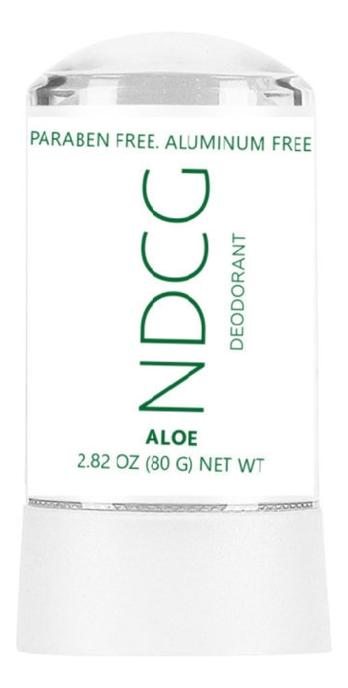 Купить Натуральный минеральный дезодорант с экстрактом алоэ Deodorant Aloe: Дезодорант 80г, NDCG