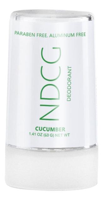Купить Натуральный минеральный дезодорант с экстрактом огурца Deodorant Cucumber: Дезодорант 60г, NDCG
