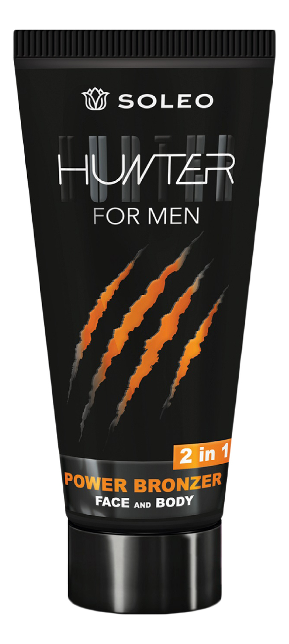 Купить Крем-бронзатор для лица и тела Hunter For Men Power Bronzer: Крем 150мл, Soleo