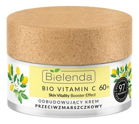 Фото - Восстанавливающий крем для лица против морщин Bio Vitamin C Skin Vitality Booster Effect 60+ 50мл увлажняющее и тонизирующее молочко для тела bio vitamin c skin vitality booster effect 400мл
