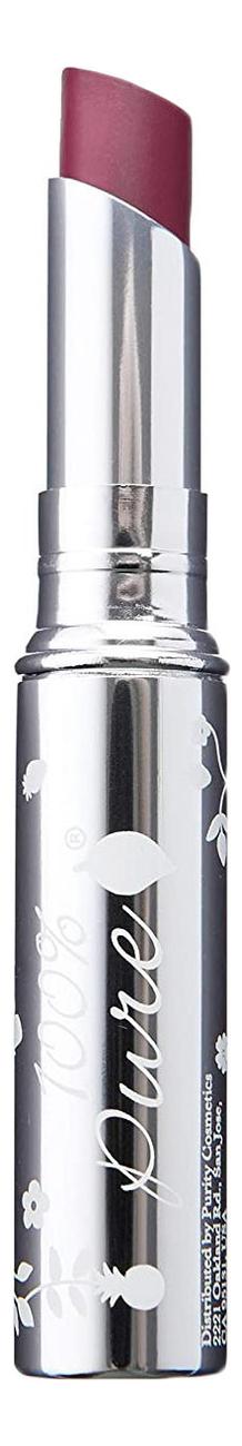 Купить Помада-блеск для губ Fruit Pigmented Lip Glazes 2, 5г: Fig, 100% Pure