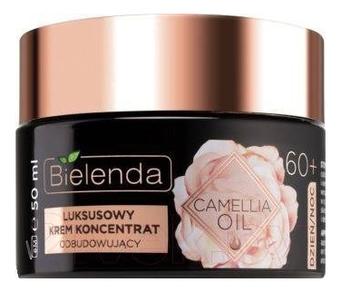 Купить Восстанавливающий крем-концентрат для лица 60+ Camellia Oil 50мл, Bielenda