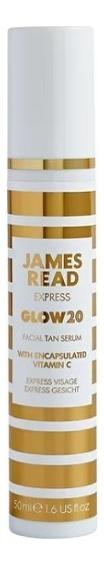 Сыворотка-автозагар для лица Express Glow20 Facial Tan Serum 50мл