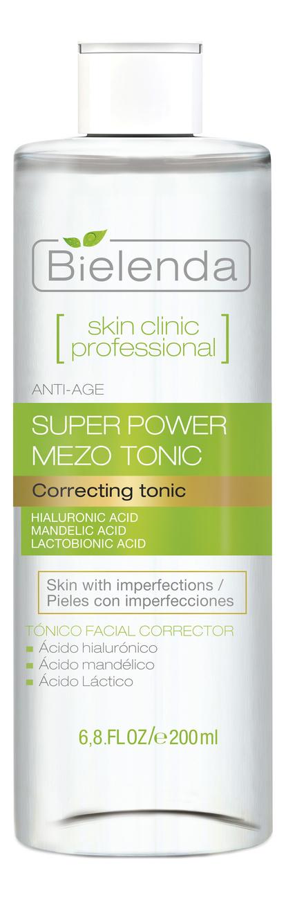 Купить Тоник для лица с миндальной и лактобионовой кислотой Skin Clinic Professional Correcting Tonic 200мл, Bielenda