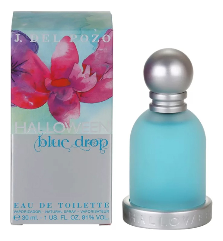 J.Del Pozo Halloween Blue Drop: туалетная вода 30мл