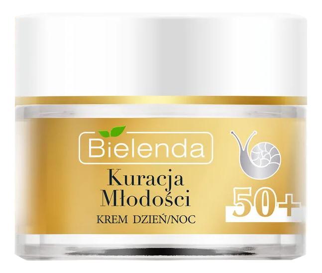 Купить Подтягивающий крем для лица против морщин Youth Therapy Lifting Anti-Wrinkle Cream 50+ 50мл, Bielenda