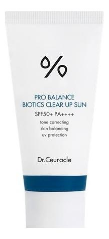 Купить Солнцезащитный крем для лица с пробиотиками Pro Balance Biotics Clear Up Sun SPF50+ PA++++ 50мл, Dr. Ceuracle