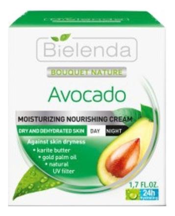 Купить Крем для лица с экстрактом авокадо Bouquet Nature Avocado 50мл, Bielenda