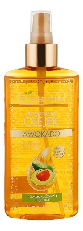Купить Масло авокадо для лица, тела и волос Precious Avocado Oil Body, Face & Hair 150мл, Face & Hair 150мл, Bielenda