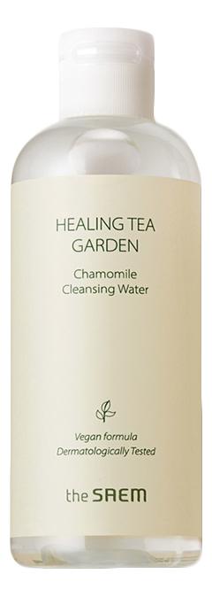 Купить Очищающая вода с экстрактом ромашки Healing Tea Garden Chamomile Cleansing Water: Вода 300мл, The Saem