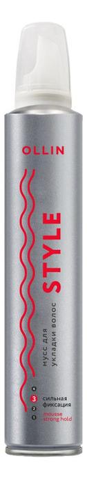 Купить Мусс для укладки волос Style Mousse Strong Hold 250мл, OLLIN Professional