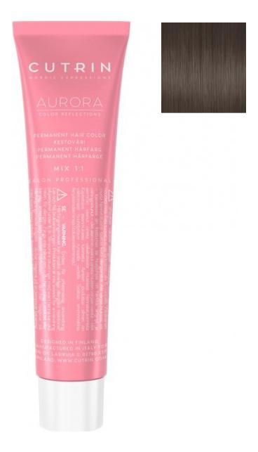 Купить Крем-краска для волос Aurora Color Reflections Metallic 60мл: 7MS Холодный песок, CUTRIN
