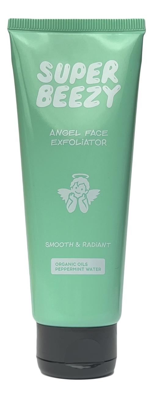 Купить Гель-эксфолиант с органическим маслом миндаля и кокоса Angel Face Exfoliator 75мл, Super Beezy
