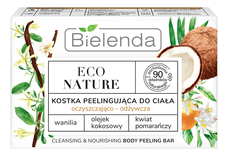 Мыло-скраб для тела Кокос Eco Nature Body Peeling Bar 80г