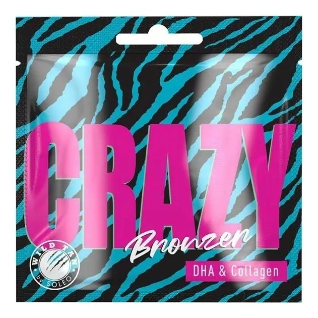 Купить Крем-автобронзатор для тела Wild Tan Crazy Bronzer DHA & Collagen: Крем 15мл, Крем-автобронзатор для тела Wild Tan Crazy Bronzer DHA & Collagen, Soleo