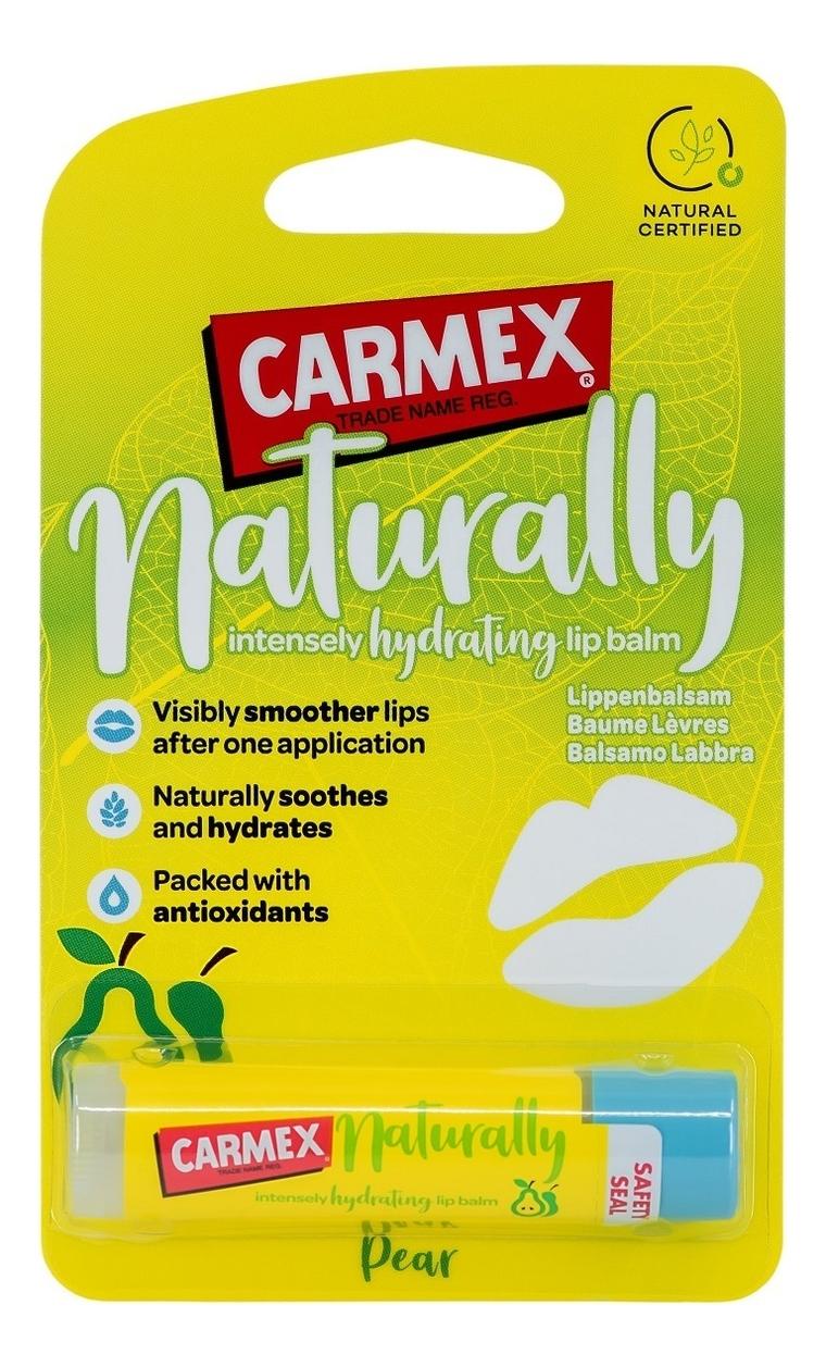 Купить Бальзам для губ с ароматом груши Naturally Hydrating Lip Balm Pear 4, 25г, Carmex
