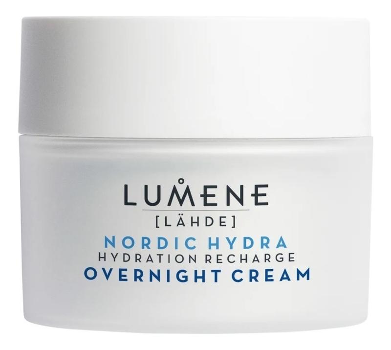 Купить Ночной увлажняющий восстанавливающий крем для лица Nordic Hydra [Lahde] 50мл, Lumene