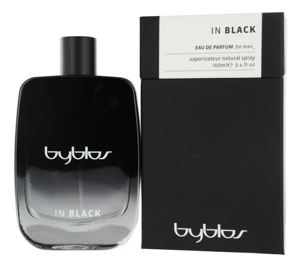 Byblos in Black: парфюмерная вода 100мл цена 2017