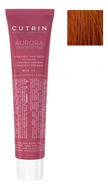 Купить Крем-краска для волос Aurora Demi Permanent Hair Color 60мл: 8.43 Светлое медное золото, CUTRIN