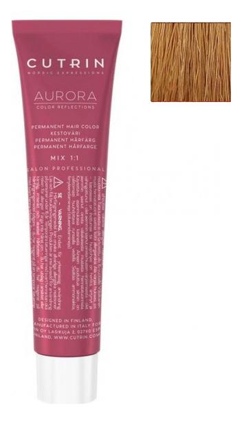 Купить Крем-краска для волос Aurora Demi Permanent Hair Color 60мл: 8.74 Карамель, CUTRIN