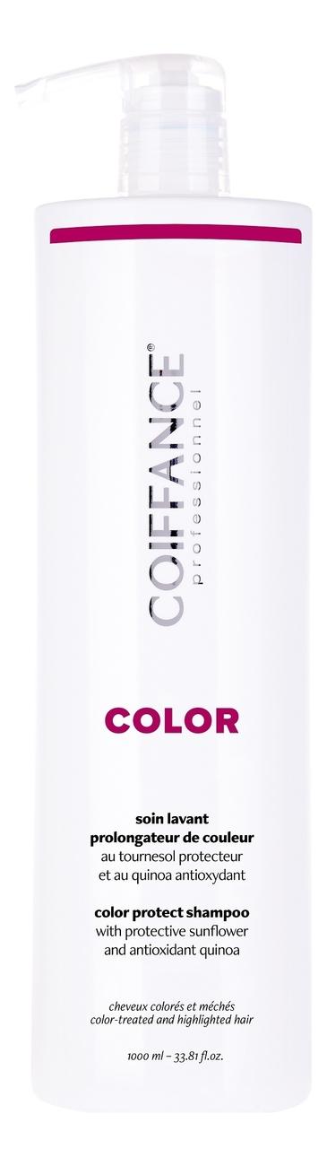 Фото - Бессульфатный шампунь для защиты цвета окрашенных волос Color Protect Shampoo Free Sulfate: Шампунь 1000мл оттеночный шампунь для поддержания цвета color protect shampoo 250мл copper