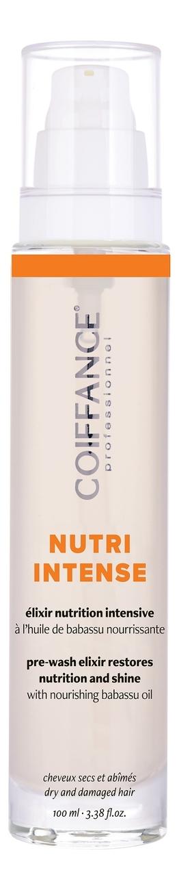 Купить Эликсир для питания и восстановления волос Nutri Intense Pre-Wash Elixir Restores Nutrition And Shine 50мл: Эликсир 100мл, Coiffance