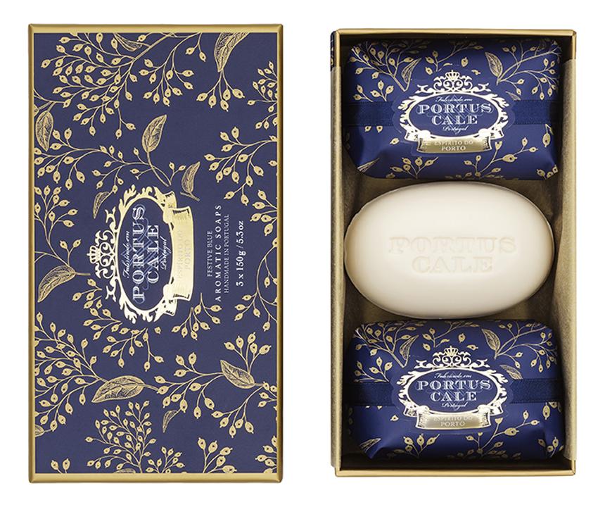 Купить Мыло Festive Blue: мыло 3*150г, Castelbel Porto
