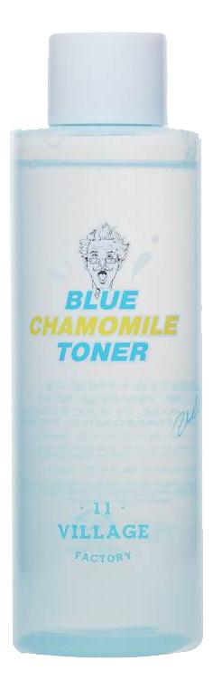 Фото - Успокаивающий тонер для лица с экстрактом голубой ромашки Blue Chamomile Toner: Тонер 250мл увлажняющий тонер для лица с витаминами vitamin moisture toner 250мл