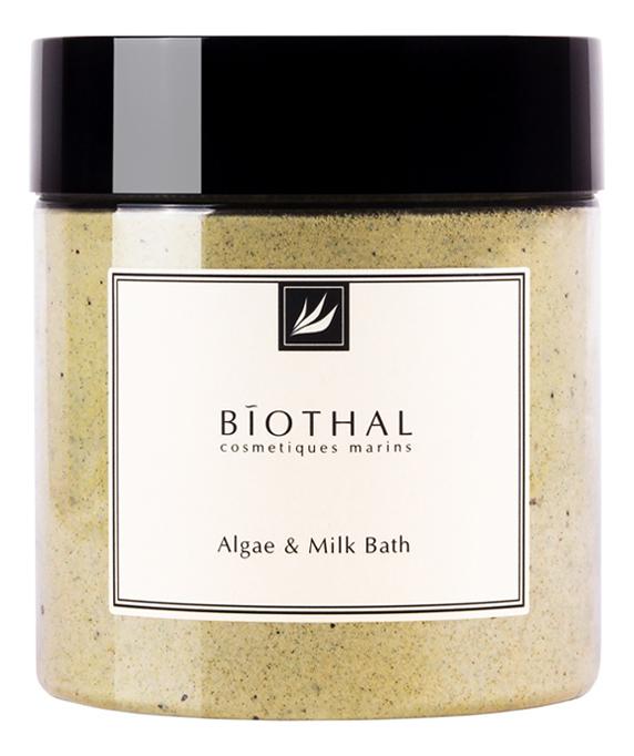 Сухое молоко для ванны с водорослями Algae & Milk Bath 500г