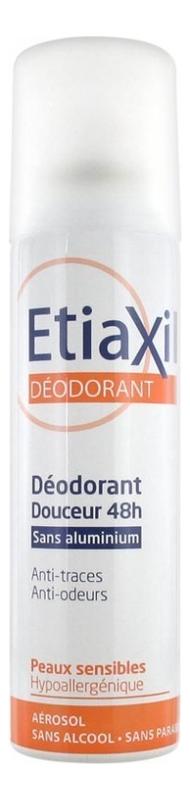 Купить Дезодорант-антиперспирант без солей алюминия Deodorant Douceur 48H Peaux Sensibles 150мл, Etiaxil