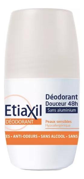 Купить Роликовый дезодорант для без солей алюминия Deodorant Douceur 48h Aisselles Peaux Sensibles: Дезодорант 50мл, Etiaxil