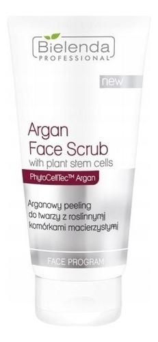 Купить Аргановый скраб для лица с растительными стволовыми клетками PhytoCellTec™ Argan Face Program Argan Face Scrub 150г, Bielenda Professional