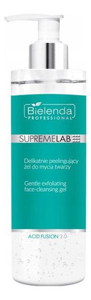 Купить Мягко очищающий гель для лица SupremeLab Acid Fusion 3.0 Gentle Exfolianting Face-Cleasing Gel 200мл, Bielenda Professional