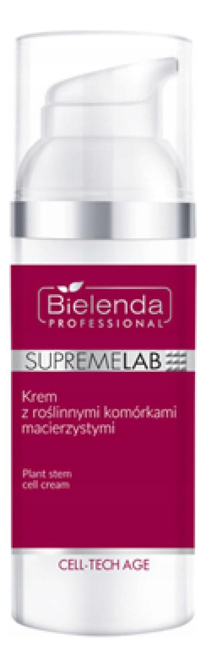 Купить Крем для лица со стволовыми клетками растений SupremeLab Cell-Tech Age Plant Stem Cell Cream 50мл, Bielenda Professional