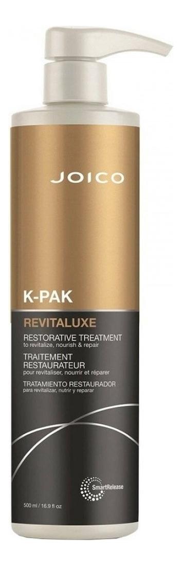 Реконструирующая био-маска для волос K-Pak Revitaluxe Restorative Treatment To Revitalize Nourish And Repair: Маска 500мл