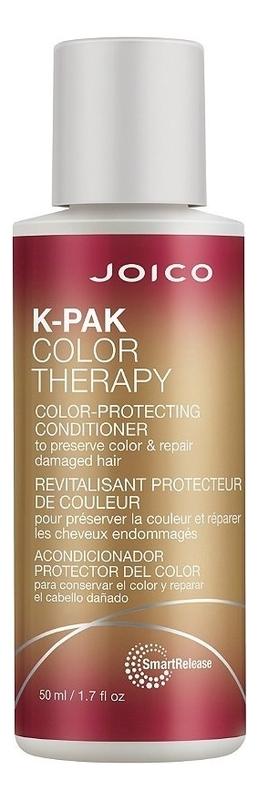 Восстанавливающий кондиционер для волос K-Pak Color Therapy Color-Protecting Conditioner: Кондиционер 50мл