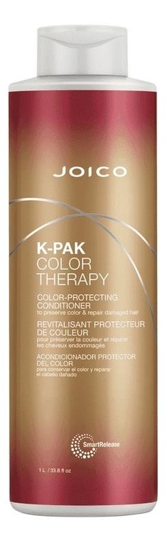 Фото - Восстанавливающий кондиционер для волос K-Pak Color Therapy Color-Protecting Conditioner: Кондиционер 1000мл восстанавливающий кондиционер для волос sp repair conditioner кондиционер 1000мл
