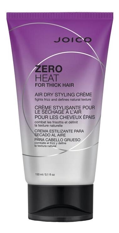 Крем для укладки толстых жестких волос без фена Zero Heat For Thick Hair Air Dry Styling Creme 150мл
