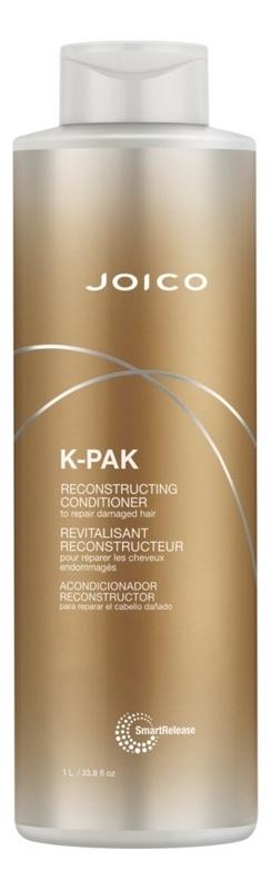 Фото - Восстанавливающий кондиционер для волос K-Pak Reconstructing Conditioner: Кондиционер 1000мл восстанавливающий кондиционер для волос sp repair conditioner кондиционер 1000мл