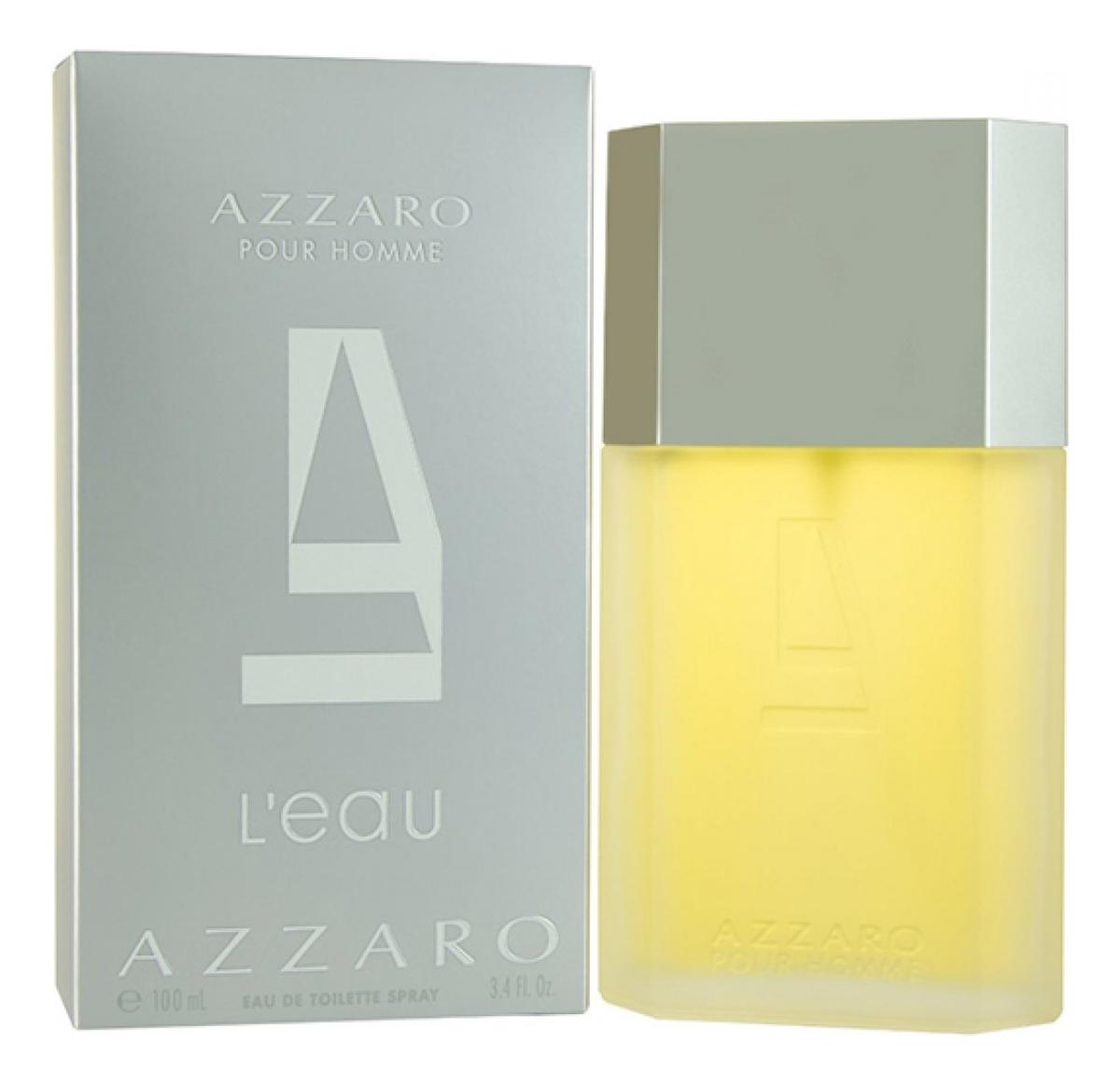 Azzaro Pour Homme L'Eau: туалетная вода 100мл azzaro pour homme туалетная вода 200мл