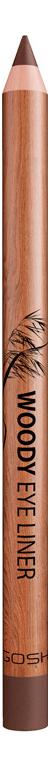Карандаш для глаз Woody Eye Liner 1,1г: 002 Mahogany gosh 24h pro liner