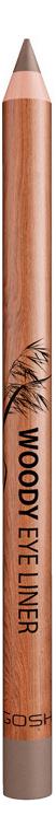 Карандаш для глаз Woody Eye Liner 1,1г: 004 Ash gosh 24h pro liner