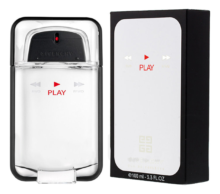Givenchy Play For Him: туалетная вода 100мл givenchy play arty color edition