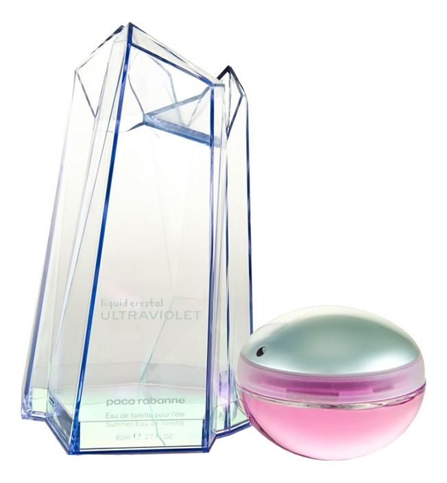 Купить Paco Rabanne Ultraviolet Liquid Crystal Woman: туалетная вода 80мл