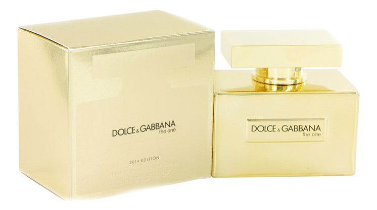 Dolce Gabbana (D&G) The One Gold Limited Edition: парфюмерная вода 75мл