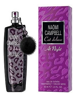 Naomi Campbell Cat Deluxe At Night: туалетная вода 30мл naomi campbell pret a porter silk collection туалетная вода 30мл