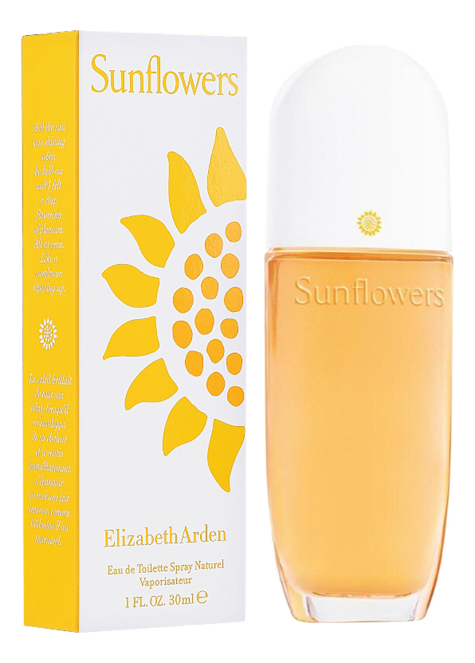 Купить Sunflowers: туалетная вода 30мл, Elizabeth Arden