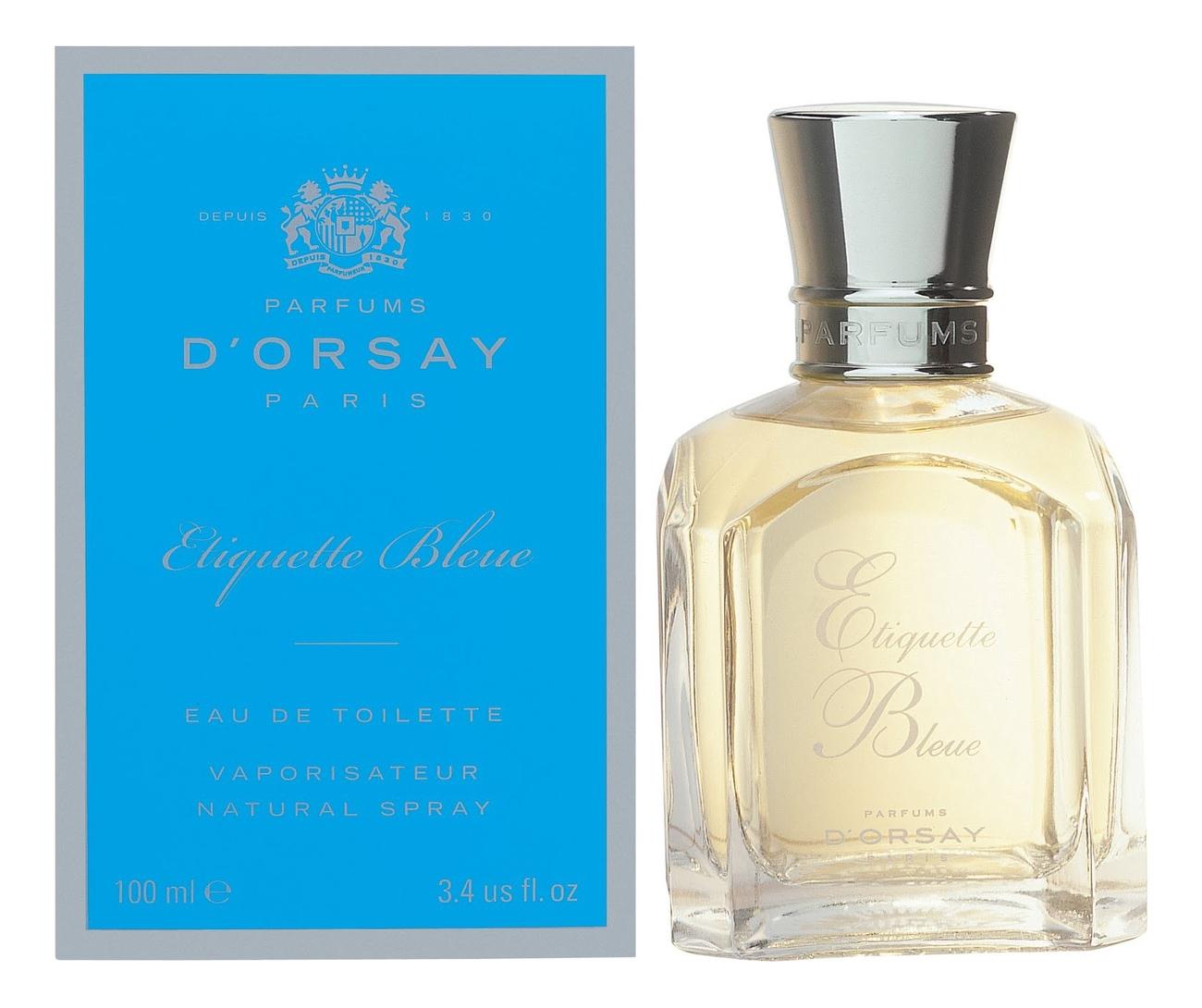 D'Orsay Etiquette Bleue: туалетная вода 100мл фото
