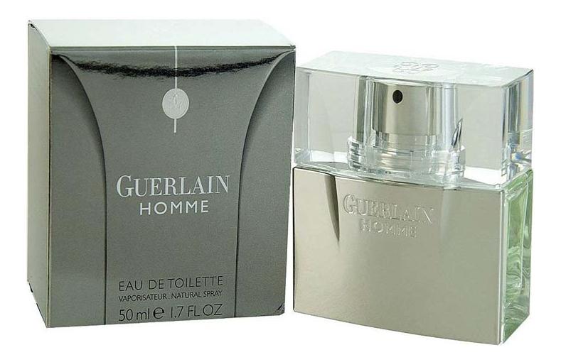 Guerlain Homme: туалетная вода 50мл guerlain homme туалетная вода 50мл